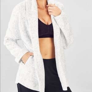 Fabletics Vanessa Quilted Cardigan Jacket S